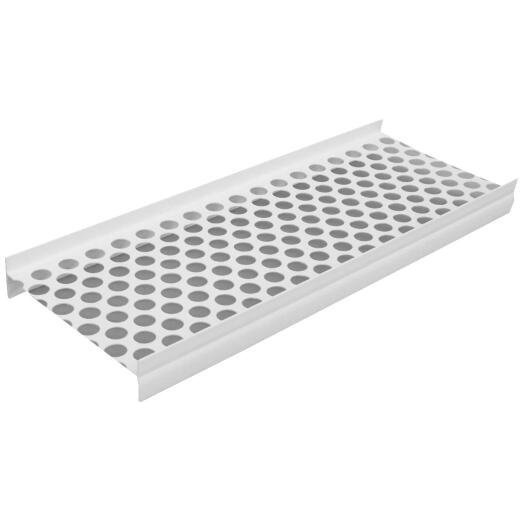 Genova Raingo 5 Ft. White Gutter Guard