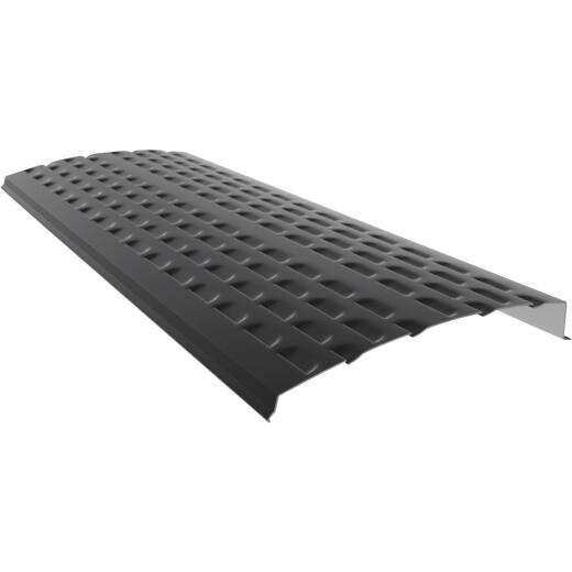 E-Z-Shield 4 Ft. Black Aluminum Gutter Guard, 25-Pack