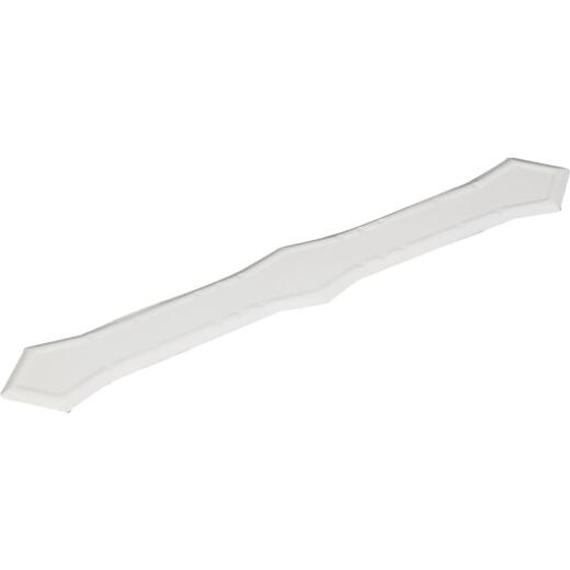 Amerimax White Galvanized Downspout Band