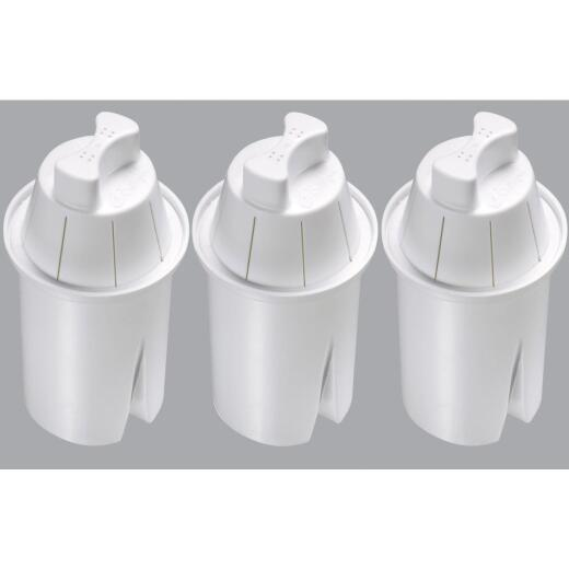 PR Culligan Pitcher Replacement Water Filter Cartridge, (3-Pack)