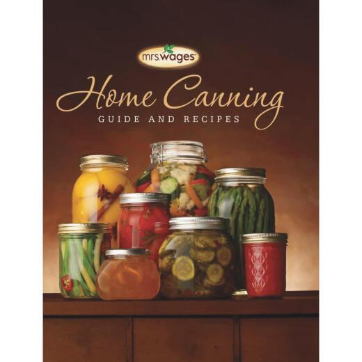 Mrs. Wages Home Canning Guide Book & Recipes