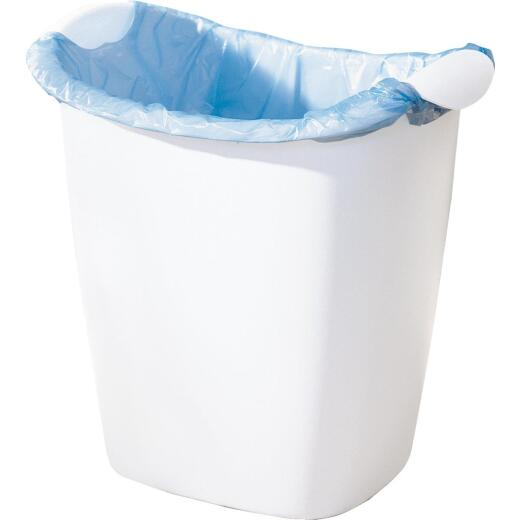Rubbermaid 14 Qt. White Wastebasket