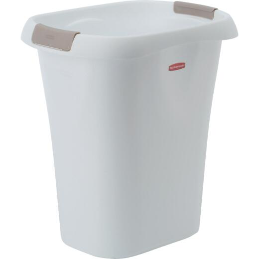 Rubbermaid 21 Qt. White Wastebasket