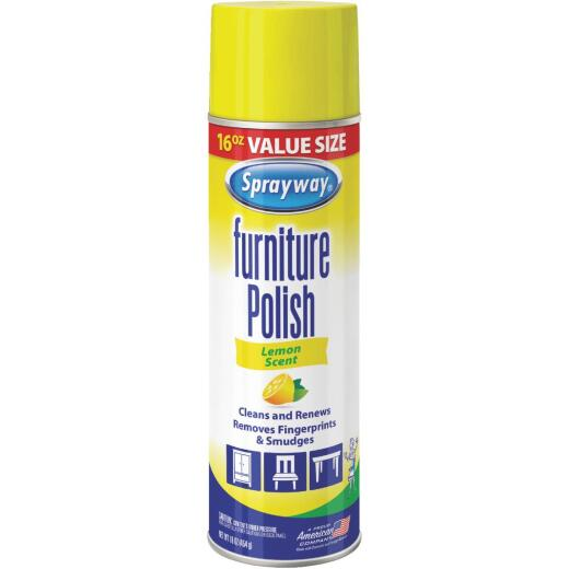 Sprayway 16 Oz. Lemon Furniture Polish