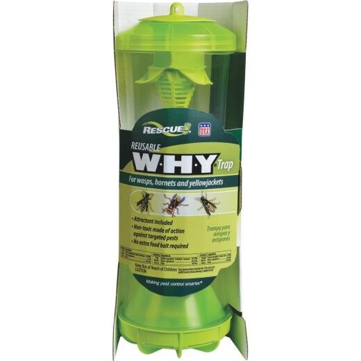 Rescue WHY Reusable Wasp, Hornet, & Yellow Jacket Trap