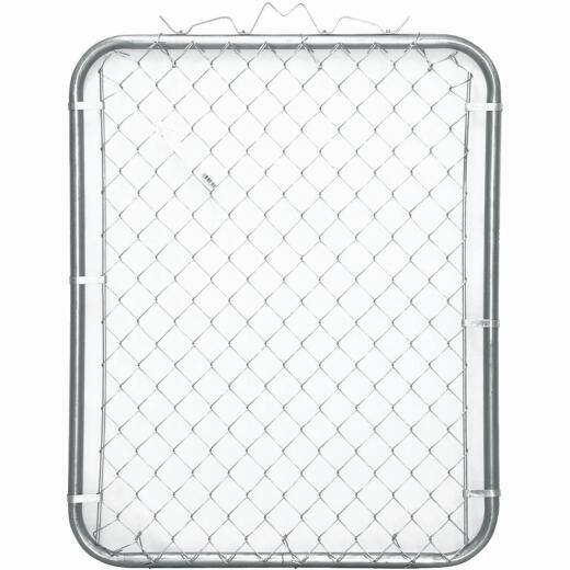Midwest Air Tech Single Walk 35 In. W. x 46 In. H. Chain Link Gate