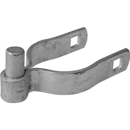 Midwest Air Tech 1-7/8 in. x 3/8 in. Steel Chain Link Gate Hinge Clamp