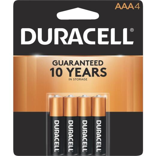 Duracell CopperTop AAA Alkaline Battery (4-Pack)