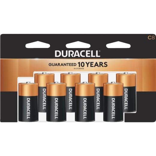 Duracell CopperTop C Alkaline Battery (8-Pack)