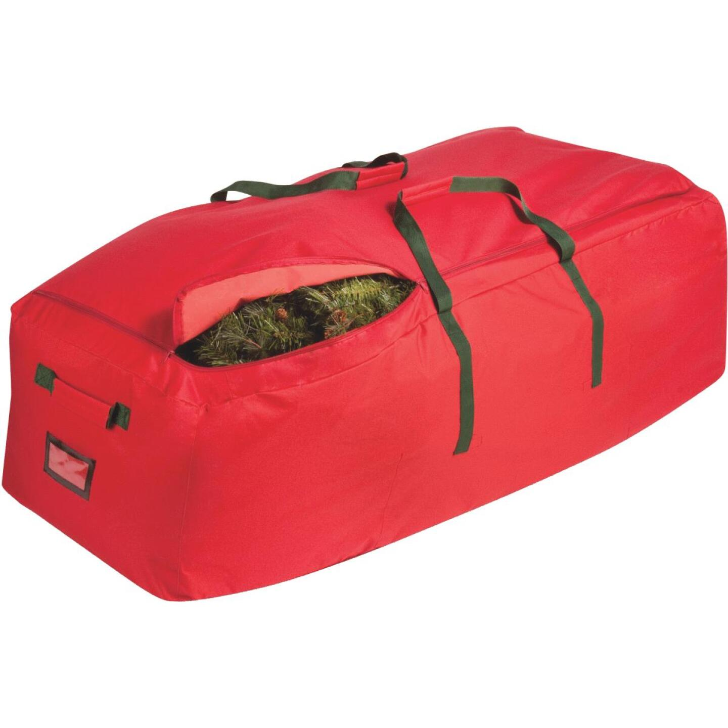 Honey Can Do 10 Ft. Rolling Christmas Tree Storage Bag Image 1